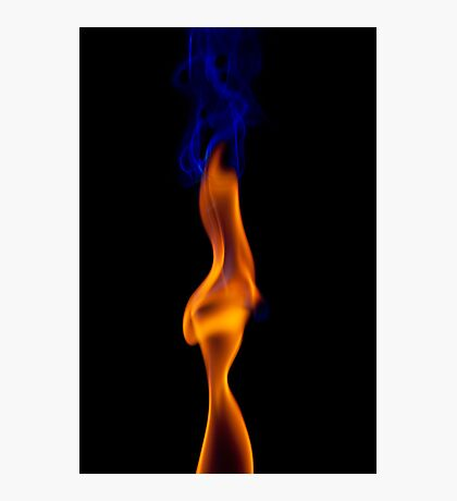 Fire Lady Photographic Print