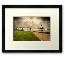 Little Belt Bridge Framed Print