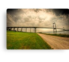 Little Belt Bridge Canvas Print