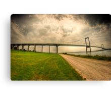 Little Belt Bridge Canvas Print