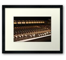 Retro Mixer Framed Print