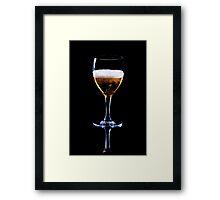 Glass of Beer Framed Print