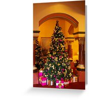 Yuletide At The House Of Windsor Greeting Card