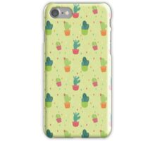 Cactus Party Pattern iPhone Case/Skin