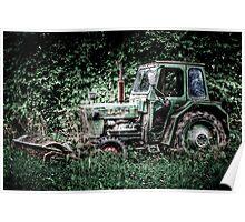 Abandoned Tracktor Poster