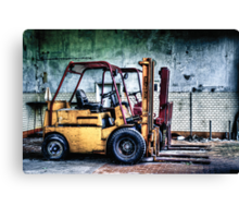 Fork Lifts Canvas Print
