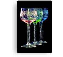 Colorful Glasses Canvas Print