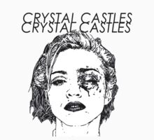 Crystal Castles Shirt RETRO by melissatoledo