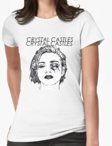 Crystal Castles Shirt RETRO Womens Fitted T-Shirt