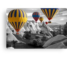 Hot Air Balloons Over Capadoccia Turkey - 3 Canvas Print