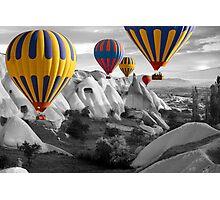 Hot Air Balloons Over Capadoccia Turkey - 3 Photographic Print