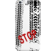 Stop road sign - case iPhone Case/Skin