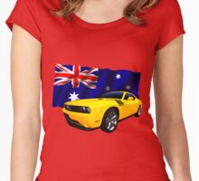 Challenger Down Under Women's Fitted Scoop T-Shirt