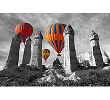 Hot Air Balloons Over Capadoccia Turkey - 6 Photographic Print