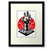 Hand of Doom Framed Print