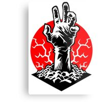 Hand of Doom Metal Print