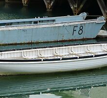 Wooden Long/ships Boat Portsmouth by Woodie