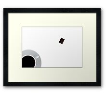Coffee and chocolate Framed Print
