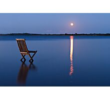 Moon view  Photographic Print