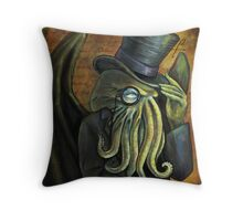 Dapper Cthulhu Throw Pillow