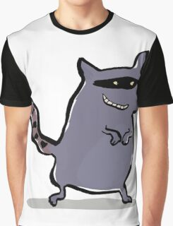 racoon Graphic T-Shirt