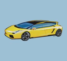 Lamborghini Gallardo Estate Wagon Deluxe Kids Tee