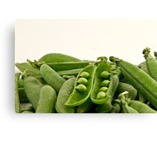 Bunch of peas Canvas Print