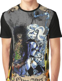 Unhappily Ever After - Lady Death & Evil Ernie Graphic T-Shirt