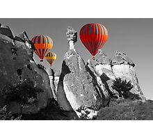 Hot Air Balloons Over Capadoccia Turkey - 11 Photographic Print