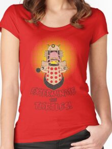 Dalek Krang Women's Fitted Scoop T-Shirt