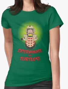 Dalek Krang Womens Fitted T-Shirt