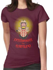 Dalek Krang Womens Fitted T-Shirt