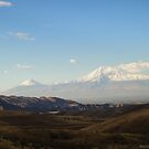 The mountains of Ararat  by Harout Abrahamyan