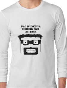 Mad Science Art Long Sleeve T-Shirt