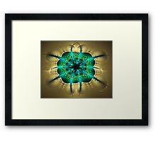 Circular Synergy Framed Print