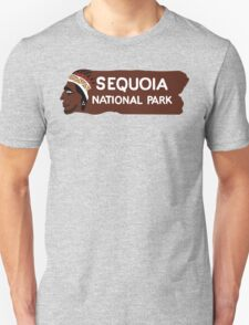 Sequoia National Park Entrance Sign T-Shirt
