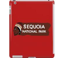 Sequoia National Park Entrance Sign, California, USA iPad Case/Skin