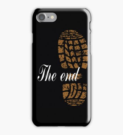The end - case iPhone Case/Skin