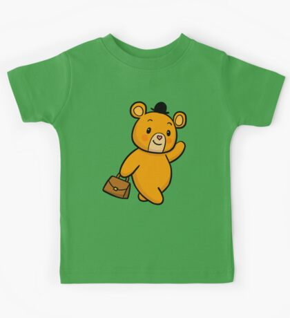 My Friend the BEAR - Walking in the Forest Kids Tee