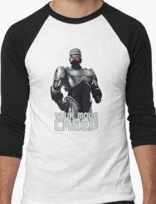 "RoboCop ""Your Move, Creep."" Men's Baseball ¾ T-Shirt"