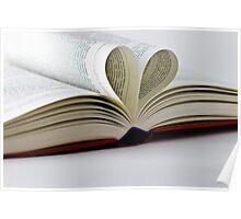 Heart Book Poster