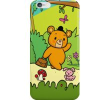My Friend the BEAR - Walking in the Forest iPhone Case/Skin