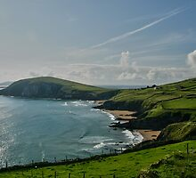 Dingle Coast Seascape, Dingle, Co Kerry by John  Carey