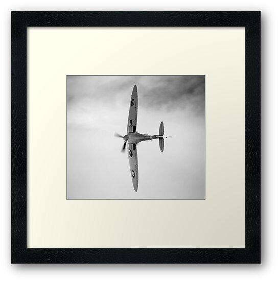 Spitfire display by Ian Merton