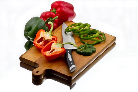 Bell Peppers by Gert Lavsen