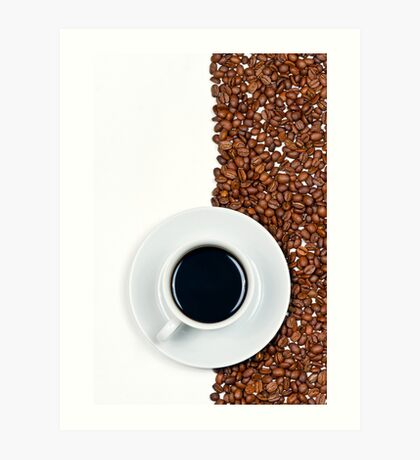 Coffee Flag Art Print