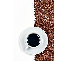 Coffee Flag Photographic Print