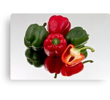 Bell Peppers Canvas Print