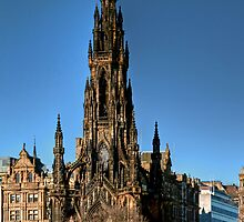 The Scott Monument by Christine Smith