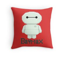Big hero 6 baymax  chibi Throw Pillow